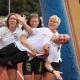 Martin, Christine, Astrid und Maren